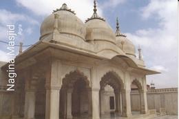 INDIA  2019  Nagina Maslid  Agra  Built By Moghul Emperor Shah Jahan  Stamped Card  # 20678  D Inde  Indien - Islam