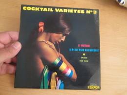 VYNILE DISQUE 45 Tours Disque Pub VERNON Cocktail Variétés N°3 LE METEQUE LE PETIT PAIN AU CHOCOLAT SPLEEN FOR EVER - Compilations
