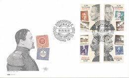 Denmark FDC 16-10-2001 HAFNIA 2001 Complete Set Of 4 With Cachet - Philatelic Exhibitions