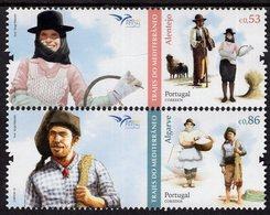 Portugal - 2019 - Euromed - Costumes Of The Mediterranean - Mint Stamp Set - 1910-... République
