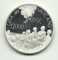 2001 - Vaticano 2.000 Lire Argento - Dialogo - Vaticano
