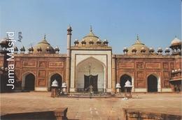 INDIA  2019  Jama Maslid  Agra  Stamped Card  # 20679  D Inde  Indien - Islam