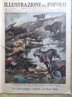 Illustrazione Del Popolo 13 Marzo 1932 Campbell Teatro Giapponese Dalmazia Croix - Libri, Riviste, Fumetti