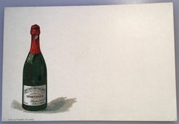 """Alsace Entier Postal TSC 1895 5Pf """"CHAMPAGNE SPORTSMAN ST LOUIS ALSACE""""(vin Wine Sekt Deutsches Reich PP Ganzsache - Biglietto Postale"""