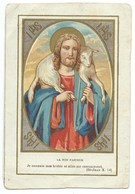 IMAGE RELIGIEUSE / L BON PASTEUR / JE CONNAIS MES BREBIS ET ELLES ME CONNAISSENT - Devotion Images