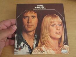 "STONE CHARDEN ""OLYMPIA 73-74"" L'amour Pas La Charité / On S'habitue - 7"" 45T France 1973  Ref : AMI 92004 SACEM - Hit-Compilations"