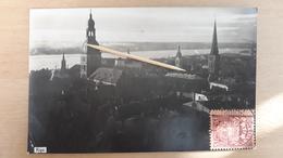 RIGA - 1927 - FOTO CARTE - Lettonie