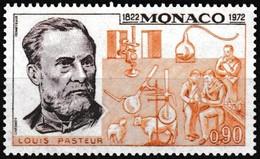 Timbre-poste Gommé Neuf** - 150e Anniversaire De La Naissance De Louis Pasteur - N° 913 (Yvert) - Monaco 1972 - Monaco