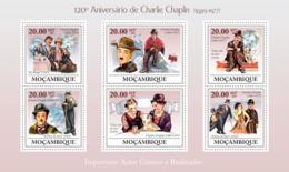 Mozambique 2009 Charles Chaplin - Mozambique