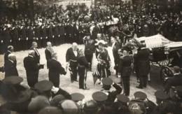 Belgique - Diverses Visites Du Roi Albert I Et De La Reine Elisabeth ( 1912,1913, ... ) (7 Cartes). - Réceptions