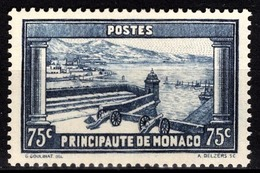 MONACO 1933 / 1937 -  Y.T. N° 125  -  NEUF** /3 - Monaco