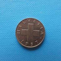 Switzerland 1 Rappen 1957 - Schweiz
