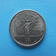 USA 1/4 Dollar 1999 P Pennsylvania - 1999-2009: State Quarters
