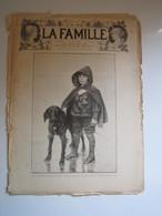 """1894 N° 762 JOURNAL """"LA FAMILLE"""" LES COMPAGNONS JACK ET LEO AUBLET Gravure FANTASIA AU MAROC CLAIRIN (abîmé) - Kranten"""