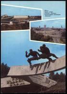 "Postcard. Belarus. Minsk. Stadium "" Dynamo "". Stade. Weißrussland. 1992 - Stadions"