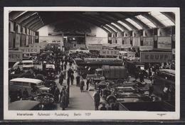 """Dt.Reich Berlin 1937 Fotokarte """" Automobil-Ausstellung """" Mit Gleichem SSt Auf 516 - Allemagne"""
