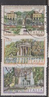 Italy Republic S 1610-1612 1982 Villas 3rd Issue,used - 1981-90: Oblitérés