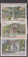 Italy Republic S 1610-1612 1982 Villas 3rd Issue,used - 6. 1946-.. Republic
