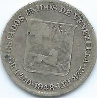 Venezuela - 1948 -¼ Bolívar - KMY20 - Venezuela