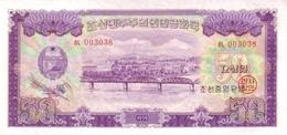 KOREA P. 16 50 W 1959 UNC - Korea, Noord