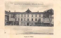 AVEYRON  12  MILLAU  GRAND HOTEL DU COMMERCE - FACADE DE L'HOTEL - Millau