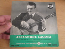 "DISQUE 45T A. LAGOYA ""ANTHOLOGIE GUITARISTIQUE N° 6 "" 60'S EP RCA F 75096 - Instrumental"