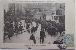 Les Expulsions Des Frères De Ploêrmel,....L'arrivée De Surty Place La Mennais - CPA 1906 - Ploërmel