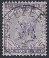 """émission 1883 - N°41 Obl Simple Cercle """"Eghezée"""" - 1883 Léopold II"""