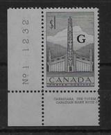 Serie De Canadá Nº Yvert S-32 ** - Correo Urgente