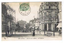 LORIENT  COURS DE LA BOVE LE THEATRE - Lorient