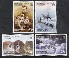 British Antarctic Territory 2005 Shackleton Expedition Dogs MNH CV £30.00 - Cani
