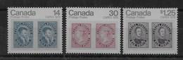 Serie De Canadá Nº Yvert 665/67 ** - 1952-.... Reinado De Elizabeth II