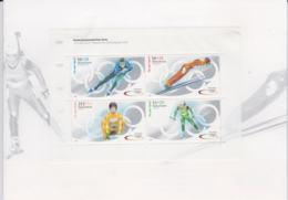 Germany Folder 2002  Olympic Games  Souvenir Sheet MNH/** But As Normal Glued To Folder In Margin Sheet (LAR7-2) - Winter 2002: Salt Lake City