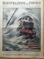 Illustrazione Del Popolo 1 Maggio 1932 Olimpiadi Filippine Bornholm Catastrofe - Libri, Riviste, Fumetti