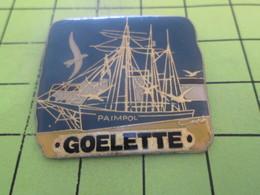 615c Pin's Pins / Beau Et Rare : THEME : BATEAUX / GOELETTE DE PAIMPOL La Goélette De Paimpon C'est Les Pompiers ! - Bateaux