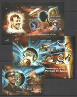 L1163 2011 SIERRA LEONE 50TH ANNIVERSARY 1ST PERSON IN SPACE GAGARIN 2KB+1BL MNH - Andere