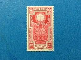 1933 ITALIA REGNO ANNO SANTO 20 FRANCOBOLLO NUOVO STAMP NEW MNH** - 1900-44 Victor Emmanuel III