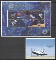 L1165 SIERRA LEONE SPACE EXPLORATION THE EARLY YEARS 1BL+1KB MNH - Andere