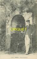 Corse, Orezza, Source Supérieure, Vieux Corse Au 1er Plan, éd. Damiani, Visuel Pas Courant - Autres Communes