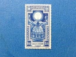 1933 ITALIA REGNO ANNO SANTO 1,25 FRANCOBOLLO NUOVO STAMP NEW MNH** - 1900-44 Victor Emmanuel III