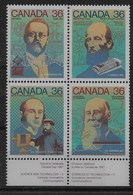 Serie De Canadá Nº Yvert 1009/12 ** - 1952-.... Reinado De Elizabeth II