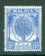 Malaya - Kedah: 1950/55   Sheaf Of Rice     SG83    15c      MH - Kedah