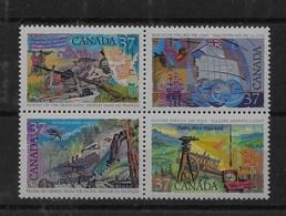 Serie De Canadá Nº Yvert 1041/44 ** - 1952-.... Reinado De Elizabeth II
