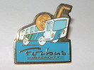 Pin's - Forbus INTERCITY - FORBACH - Transports