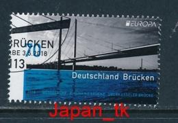 "GERMANY Mi.Nr. 3383 EUROPA CEPT "" Brücken "" 2018 - Used - 2018"