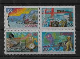 Serie De Canadá Nº Yvert 1090/93 ** - 1952-.... Reinado De Elizabeth II