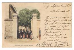 RENNES  1899  RELEVE DE LA 1er GARDE DE DREYFUS - Rennes