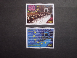 Luxemburg   Mitläufer  50 Jahre Römische Verträge   2007      ** - Idee Europee
