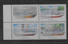 Serie De Canadá Nº Yvert 1135/38 ** BARCOS /SHIPS) - 1952-.... Reign Of Elizabeth II