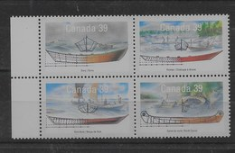 Serie De Canadá Nº Yvert 1135/38 ** BARCOS /SHIPS) - 1952-.... Reinado De Elizabeth II